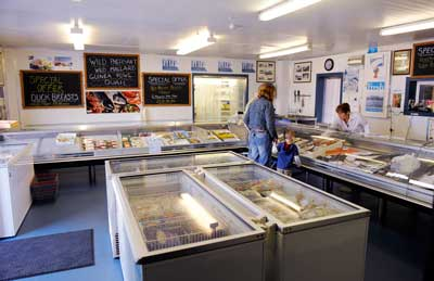 Bell's Fishmongers shop in Kingstown Industrial Estate, Carlisle